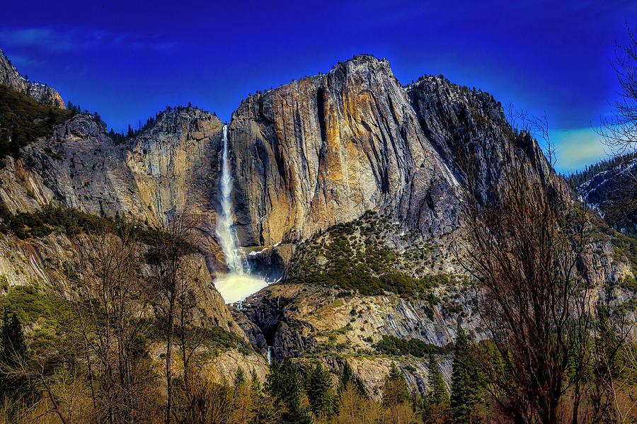 Stunning Upper Yosemite Falls by Garry Gay