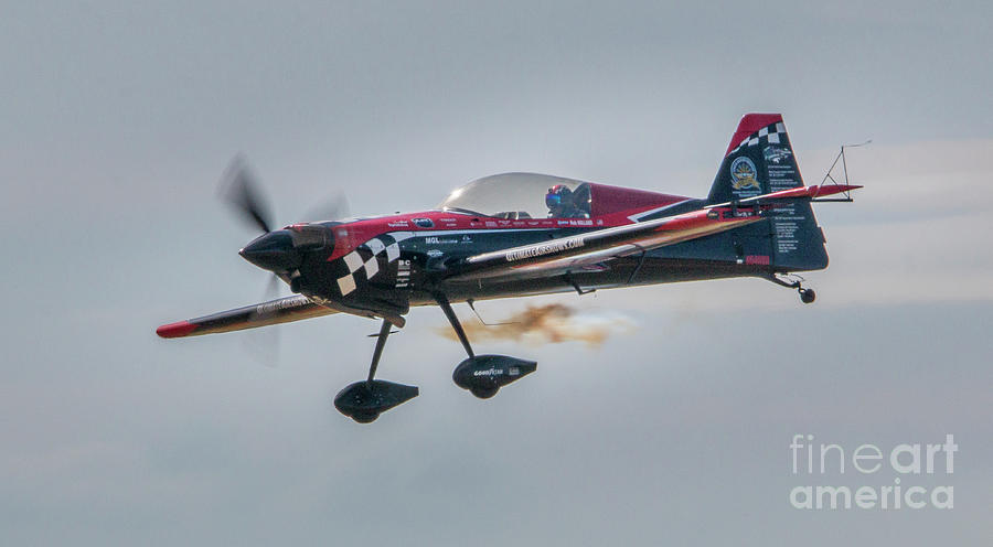 Stunt Plane Pilot by Tom Claud