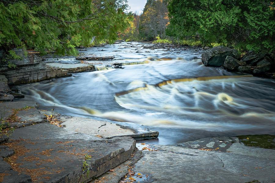 Sturgeon River by David Heilman