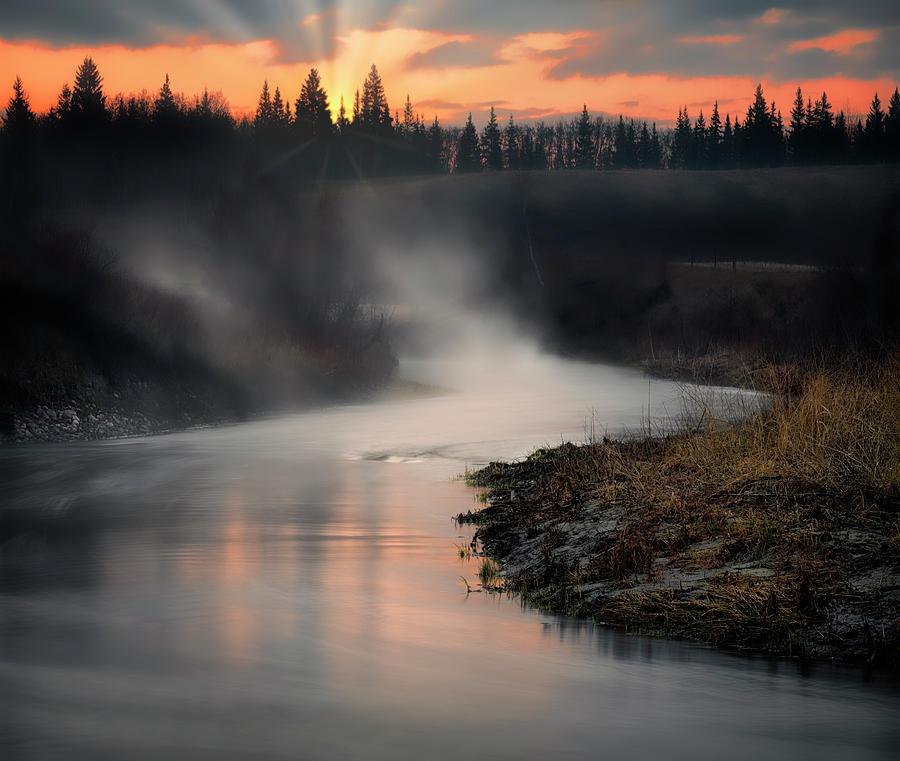 Sturgeon River Morning by Dan Jurak