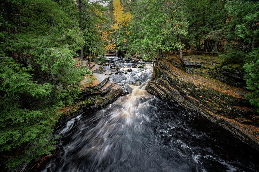 Sturgeon River Vista by David Heilman
