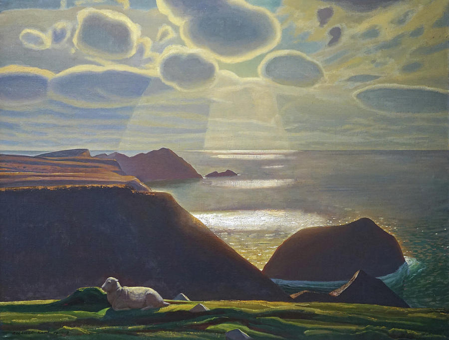 Ireland Painting - Sturrall Donegal Ireland by Rockwell Kent