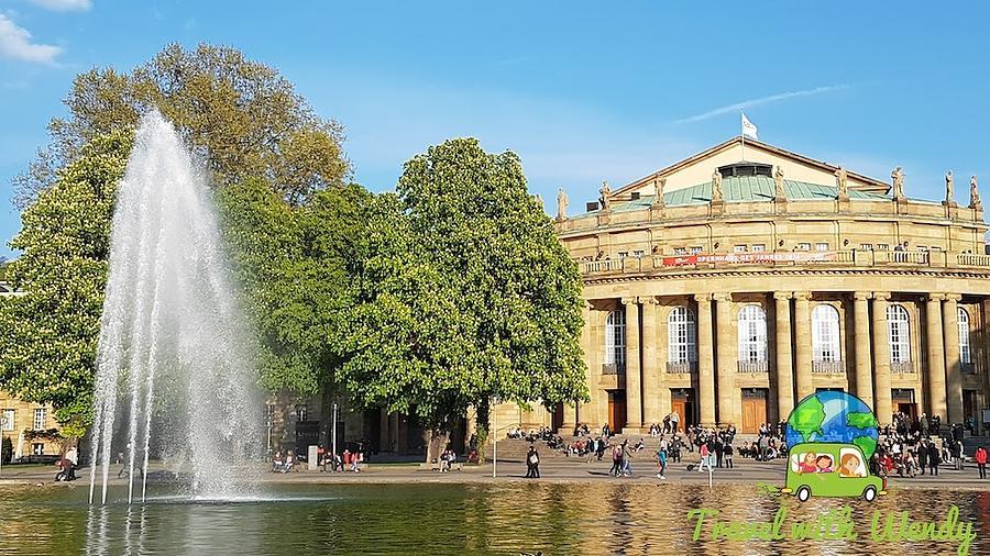 Stuttgart Photograph - Stuttgart Opera House by Wendy Payne