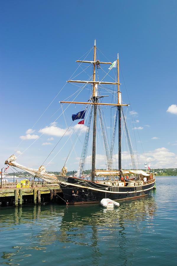 Stv Unicorn Sailing Ship In Halifax Harbour Photograph