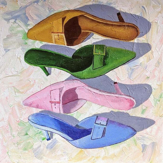 Stylin' shoes by Gail Friedman