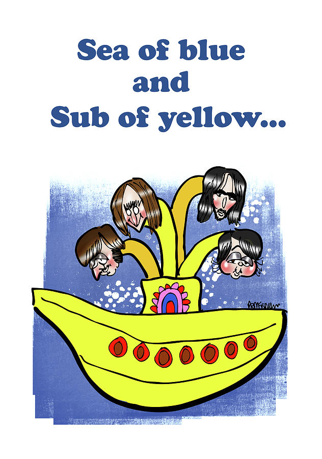Sub Of Yellow by Mark Armstrong