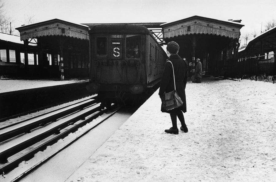 Suburban Train Photograph by Bert Hardy