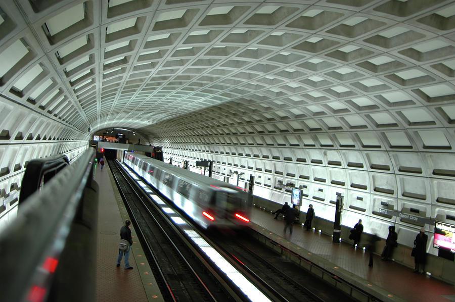Subway Metro Station 2 Photograph by Bpalmer