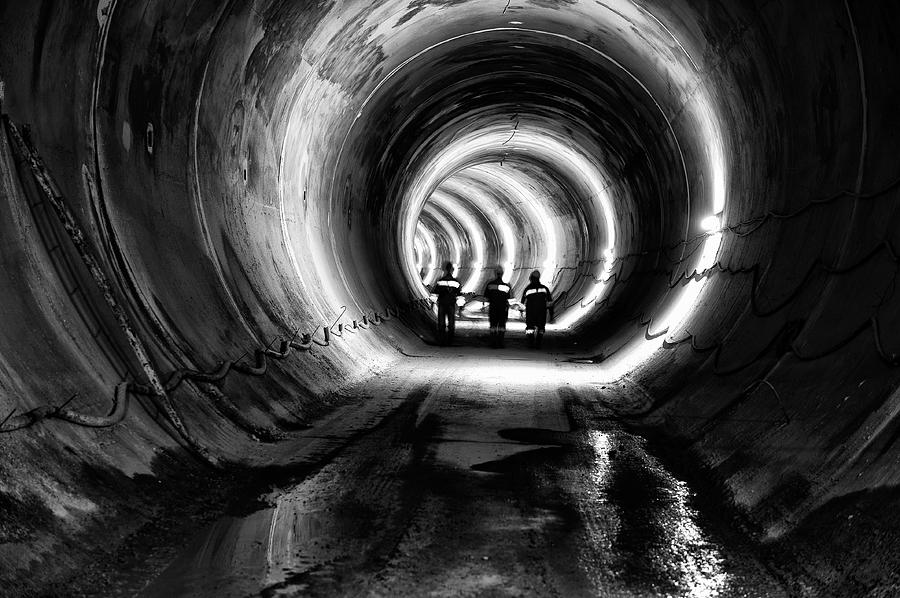 Subway, Underground Tunnel Construction Photograph by Baranozdemir