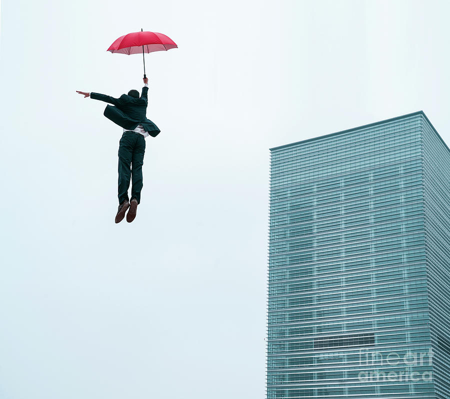 Success Concept Photo Business Man Photograph by Yaorusheng