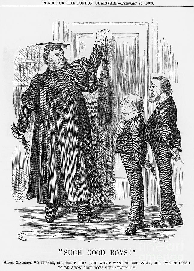 Such Good Boys, 1888. Artist Joseph Drawing by Print Collector