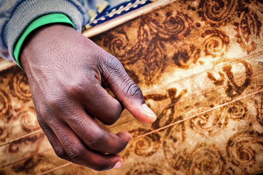 Sudanese Musician Hand - Morocco by Stuart Litoff