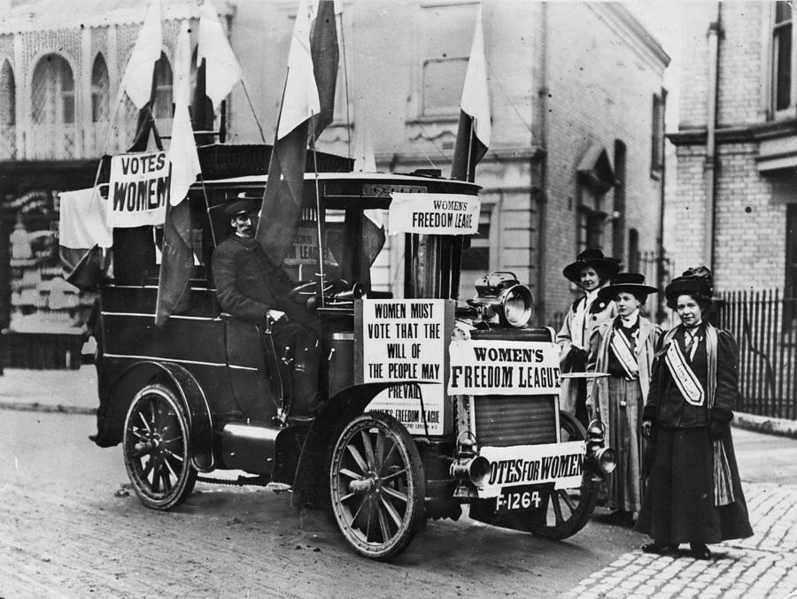 Suffragettes Campaign Photograph by Topical Press Agency