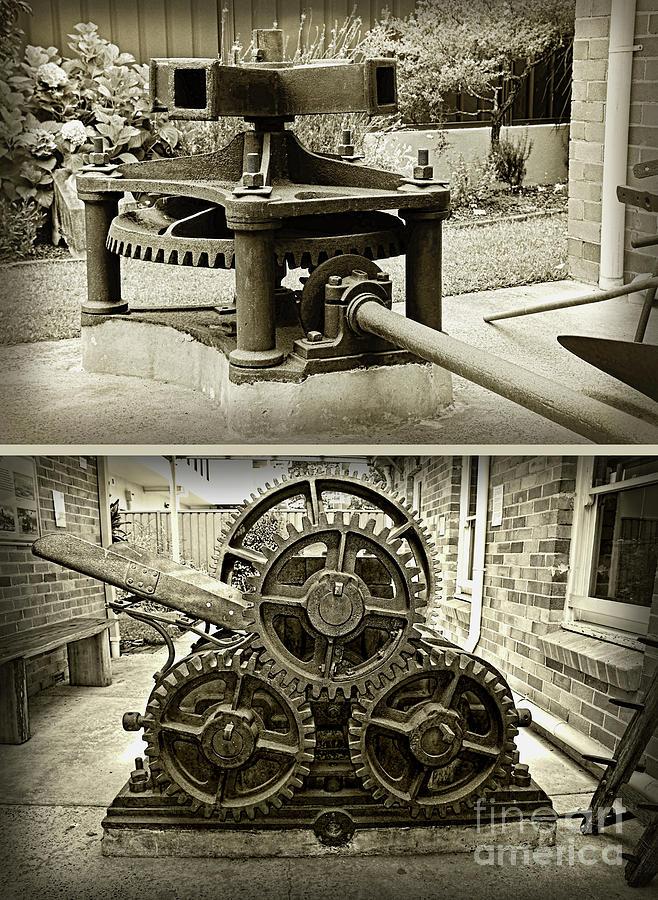 Sugar Crushing Mill c1871 by Kaye Menner by Kaye Menner