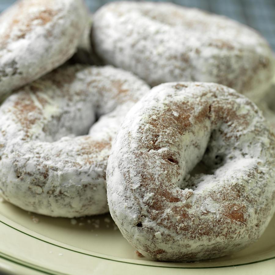 Sugar Doughnuts Photograph by Brian Yarvin