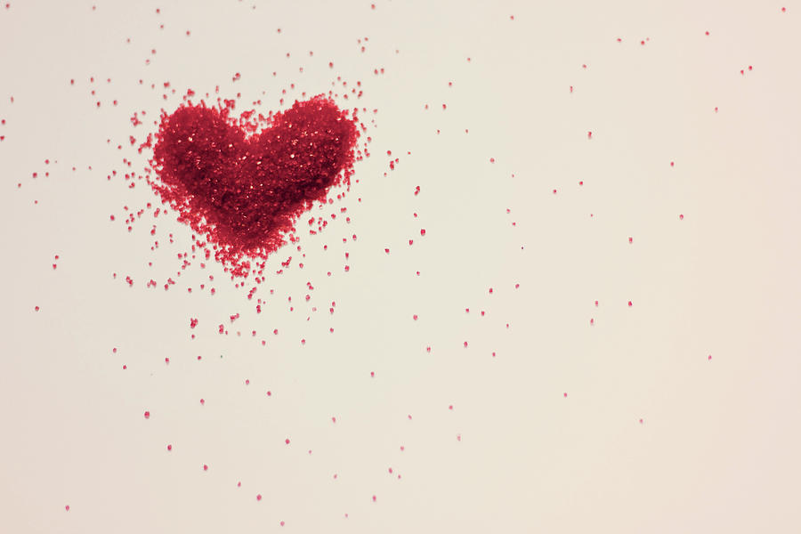 Sugar Heart Photograph by Amy Weekley