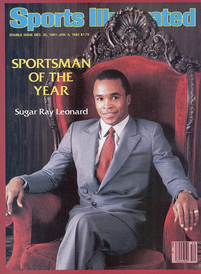 Sugar Ray Leonard, 1981 Sportsman Of The Year Sports Illustrated Cover Photograph by Sports Illustrated