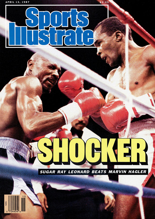 Sugar Ray Leonard, 1987 Wbc Middleweight Title Sports Illustrated Cover Photograph by Sports Illustrated