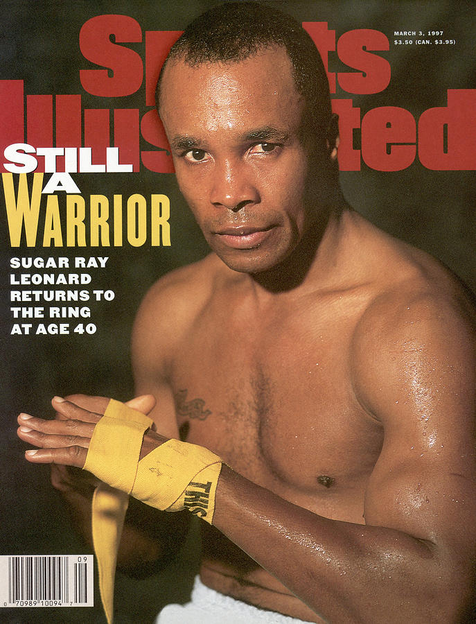 Sugar Ray Leonard, Middleweight Boxing Sports Illustrated Cover Photograph by Sports Illustrated