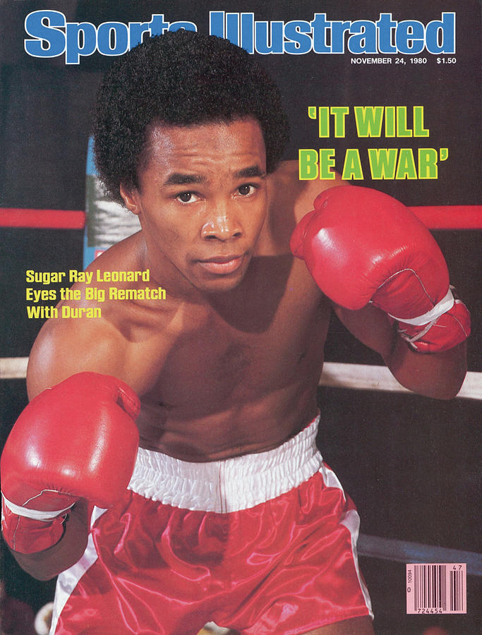 Sugar Ray Leonard, Welterweight Boxing Sports Illustrated Cover Photograph by Sports Illustrated