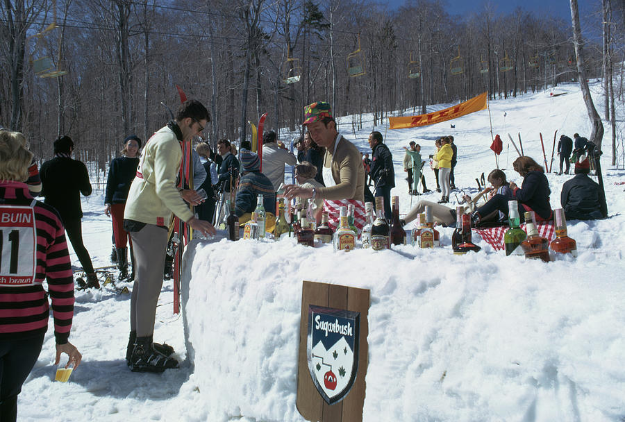 Sugarbush Skiing Photograph by Slim Aarons