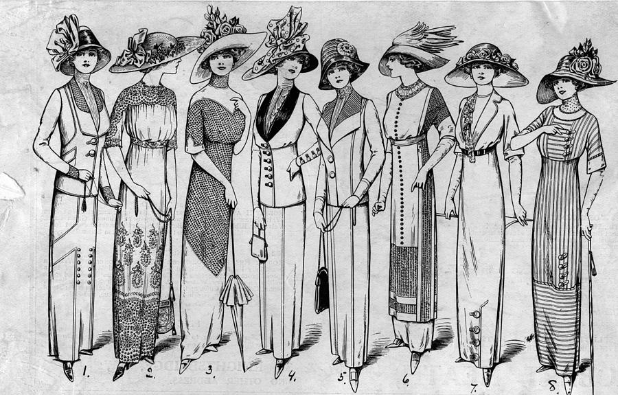 Suits And Dresses Photograph by Hulton Archive