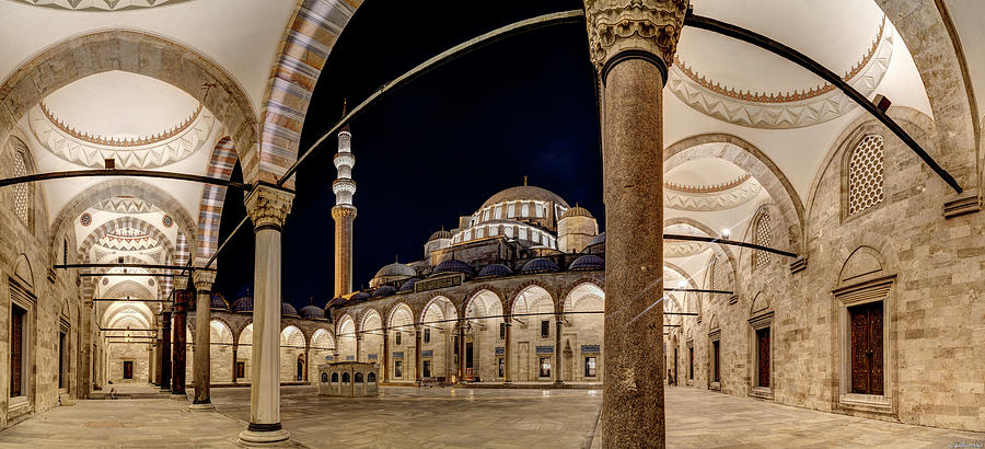 Suleiman's Mosque 01 by Weston Westmoreland