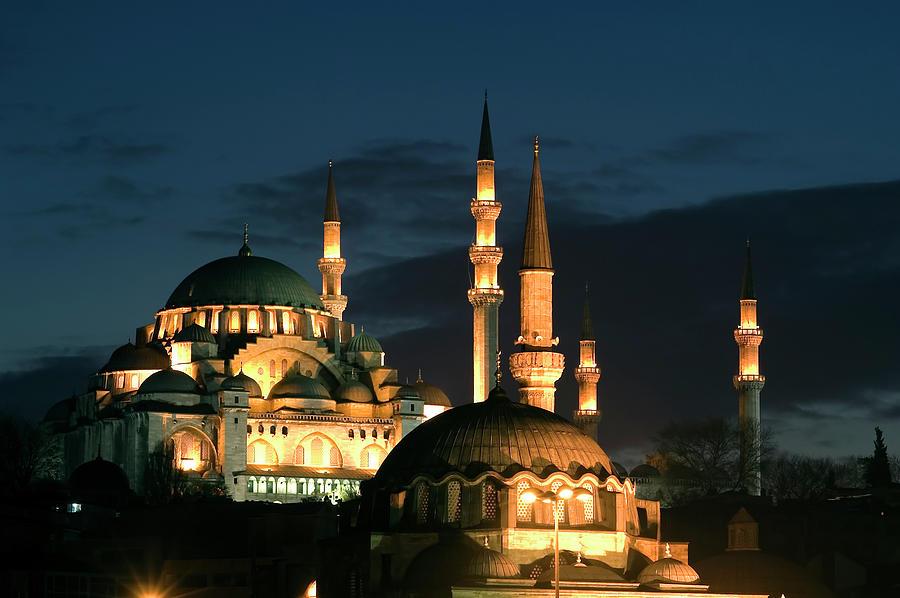 Suleymaniye Mosque Istanbul Photograph by Lebazele