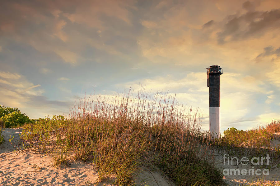 Sullivan's Island Lighthouse - Charleston Historical by Dale Powell