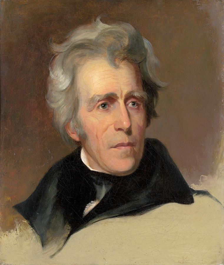 Sully: Andrew Jackson, 1845 by Thomas Sully