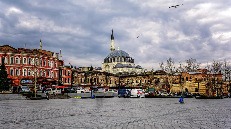 Sultanahmet Square by Maria Coulson