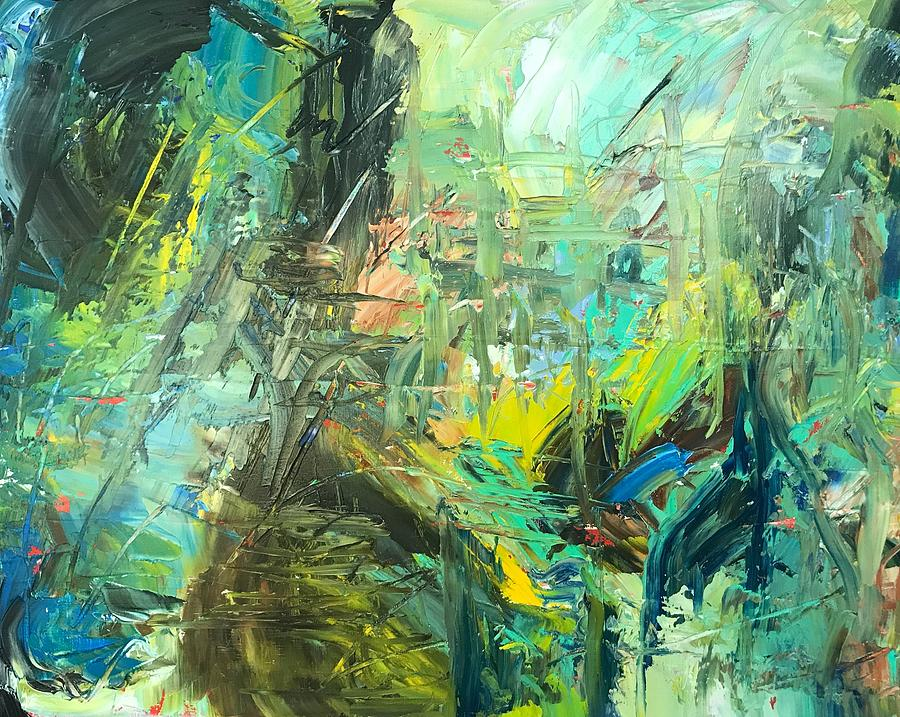 Abstract Painting - Summer Abstract by Marita McVeigh