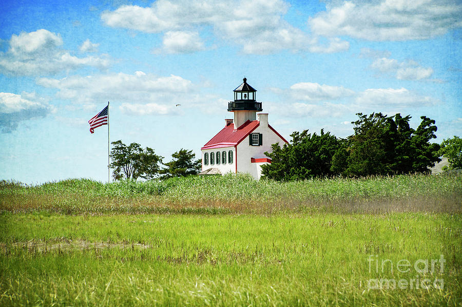 Summer at East Point Lighthouse II by Debra Fedchin