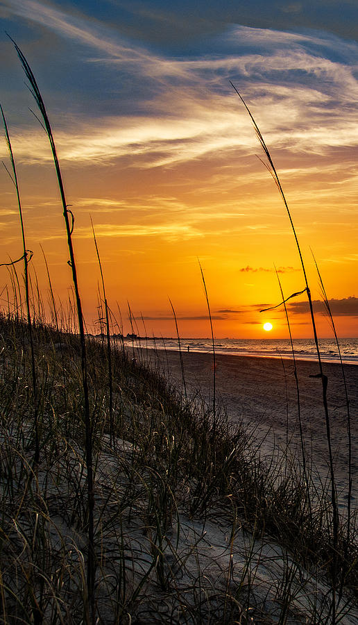 Summer At Emerald Isle by John Harding