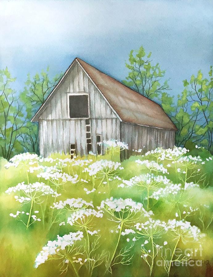 Summer barn by Inese Poga