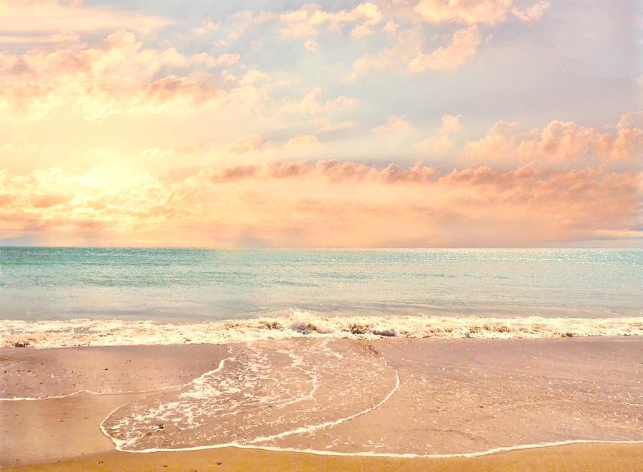 Summer Beach by KaFra Art