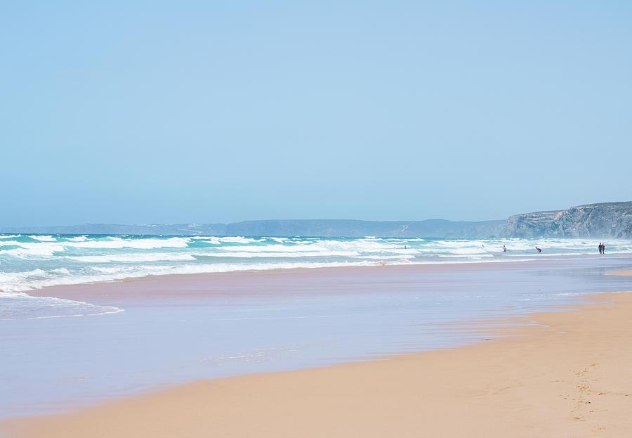 Summer Beach View by Anne Leven