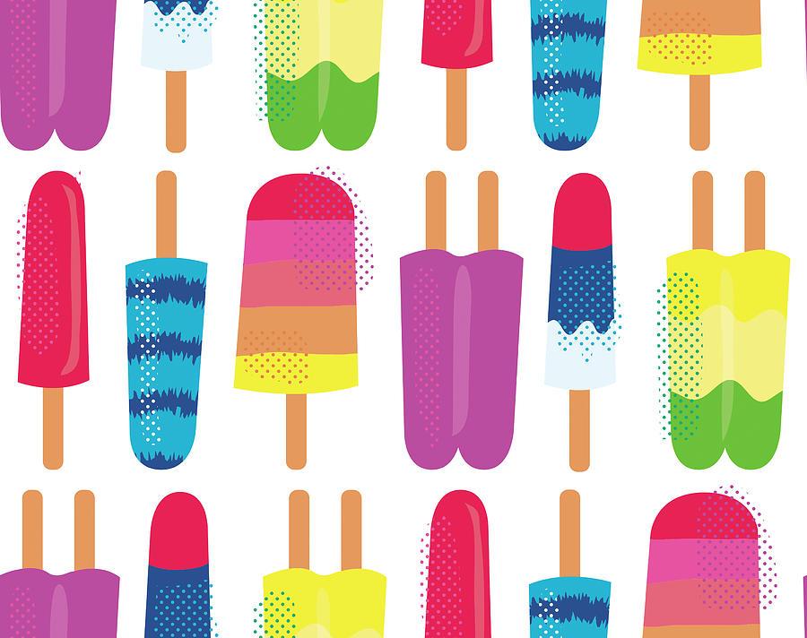 Fresh Digital Art - Summer Bounty Pattern 3 by Holli Conger