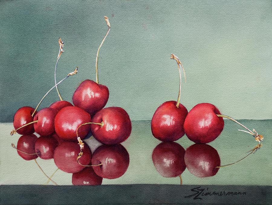 Summer Cherries by Sue Zimmermann