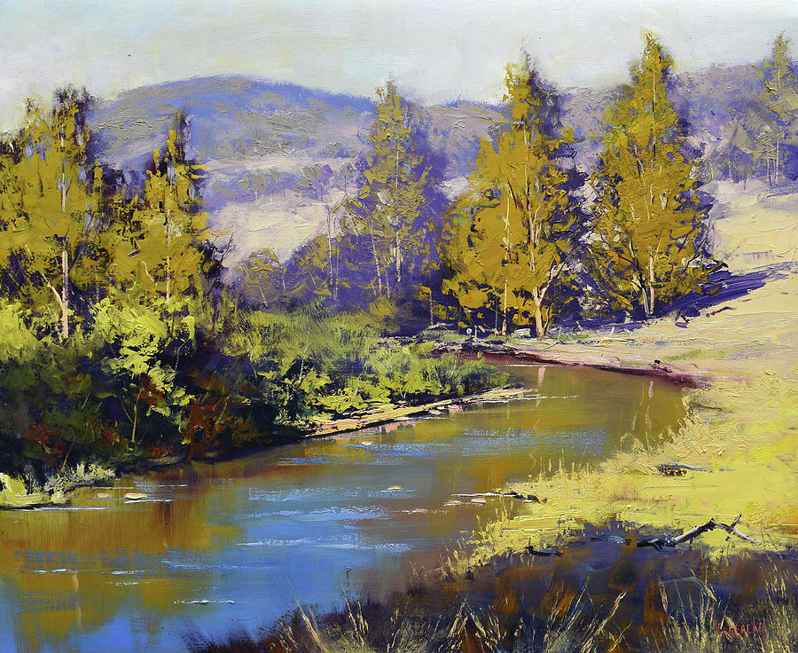 Summer Coxs River Painting