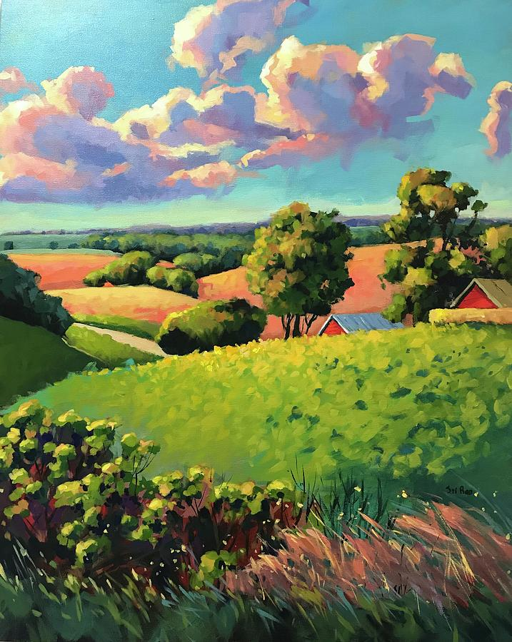 Summer Day Painting by Sri Rao