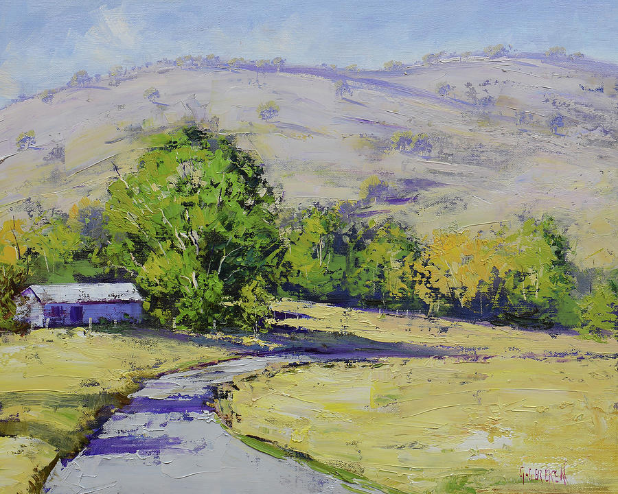 Summer Day Tumut Painting