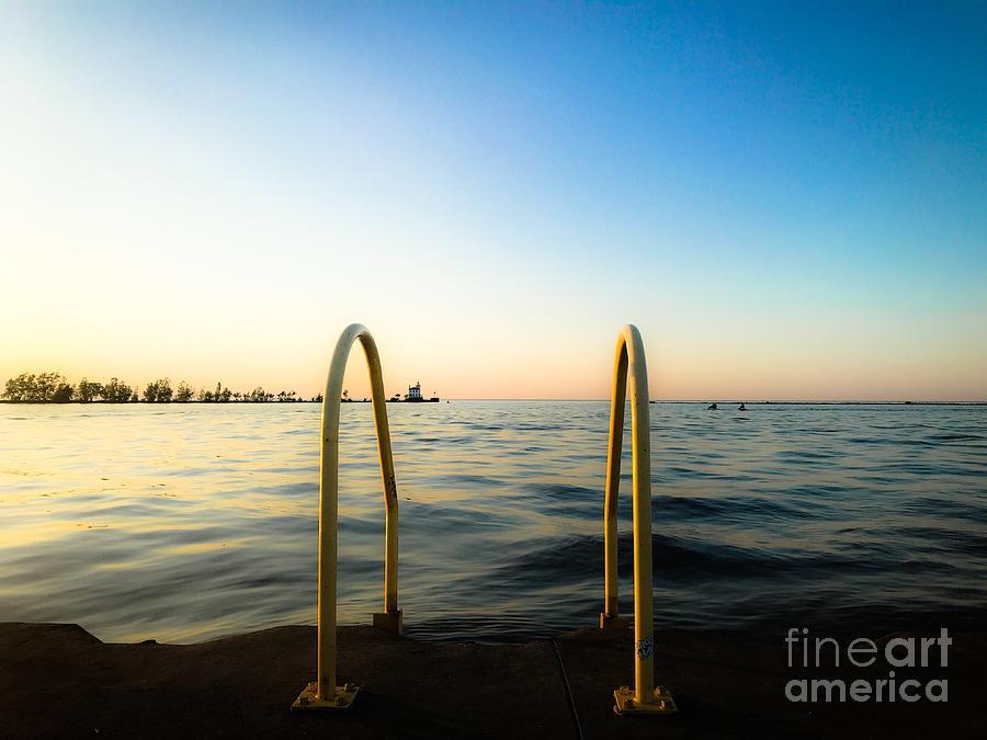 Summer Dock View Photograph