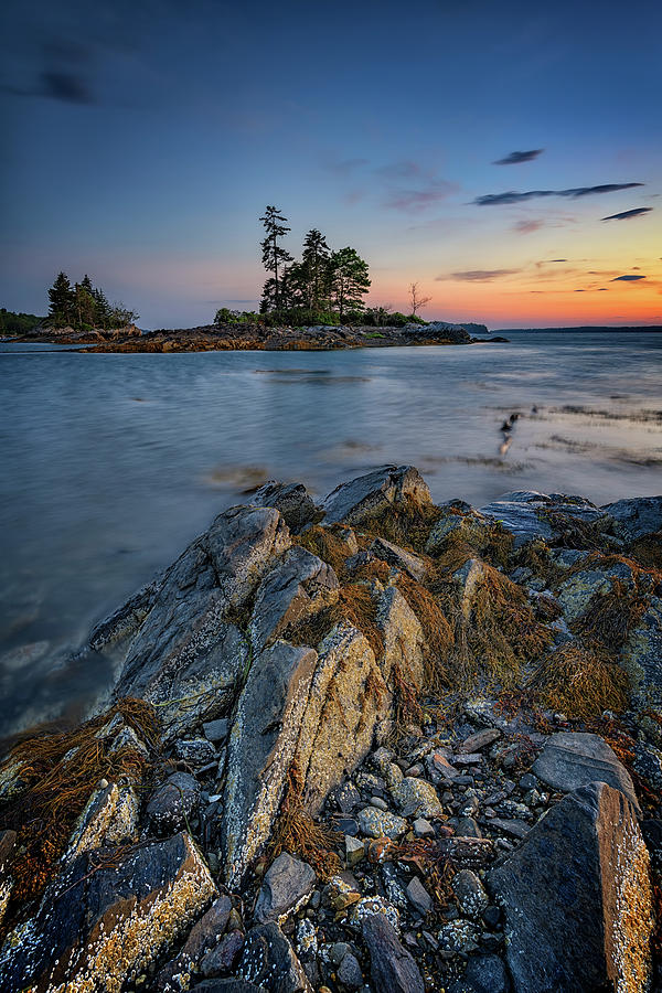 Summer Evening at Lookout Point by Rick Berk
