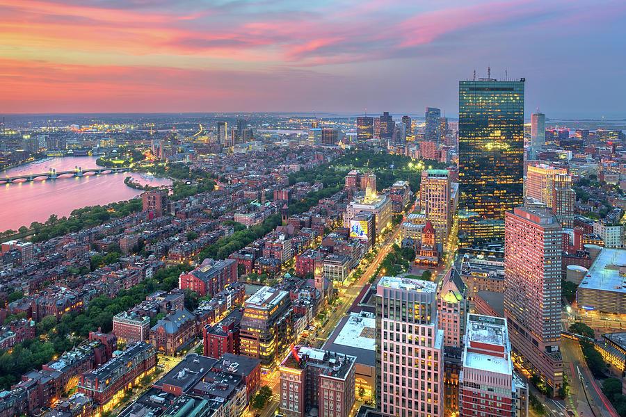 Summer Evening in Boston by Kristen Wilkinson