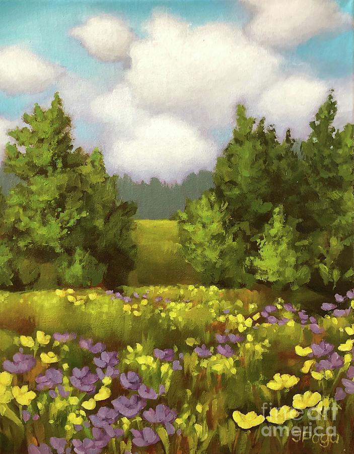 Summer fields by Inese Poga