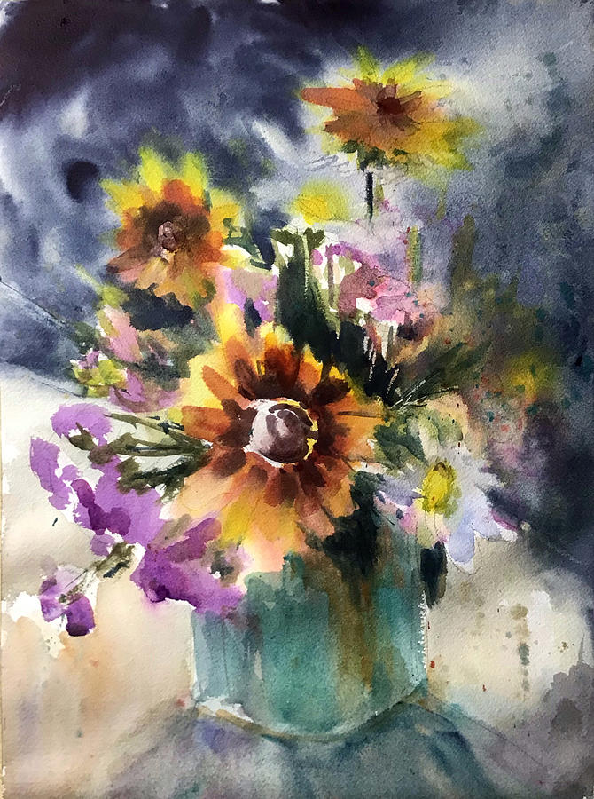 Summer Floral by Judith Levins