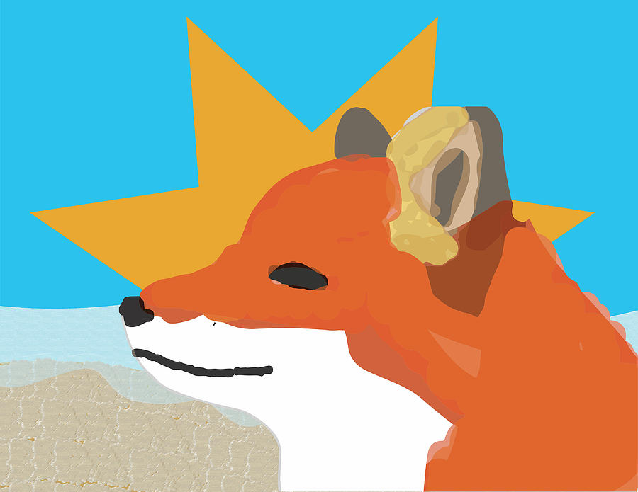 Summer Fox by Caroline Elgin
