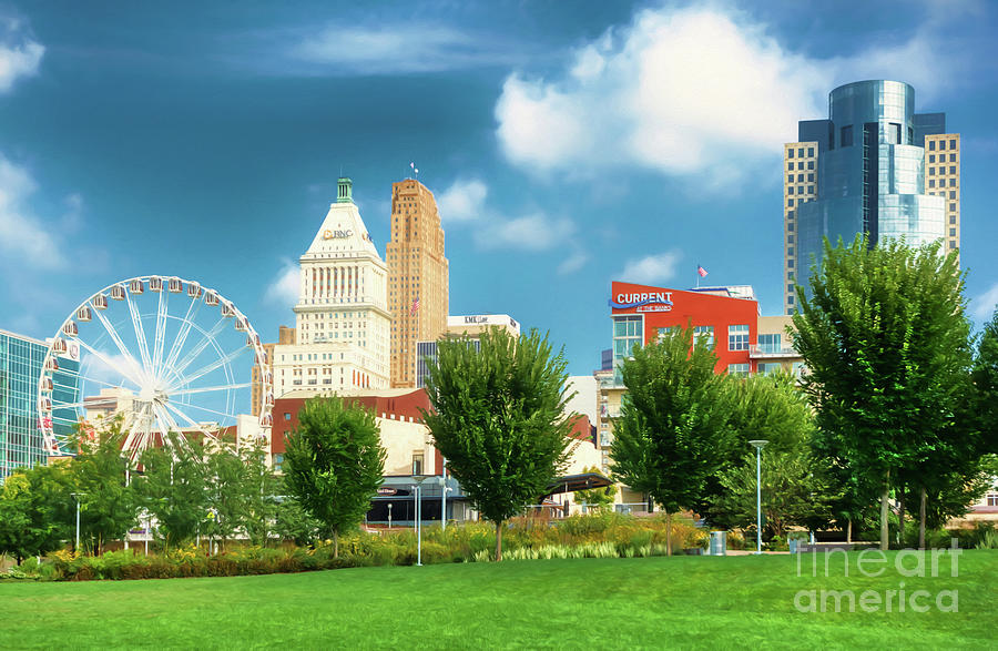 Summer In Cincinnati by Mel Steinhauer