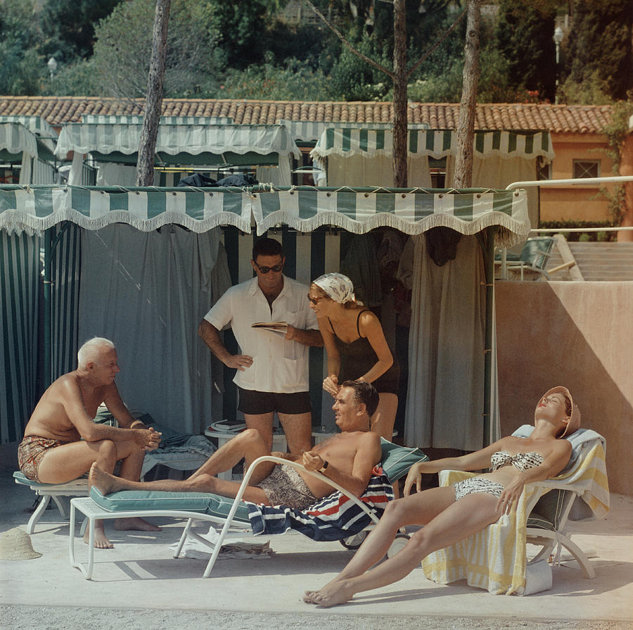 Summer In Monaco Photograph by Slim Aarons